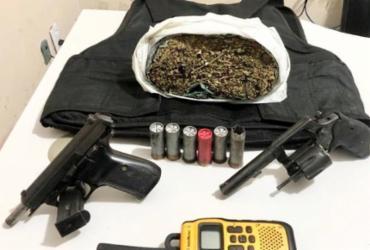 Dois suspeitos são mortos e comparsa que ostentava armas é preso no Rio Sena   Divulgação   SSP