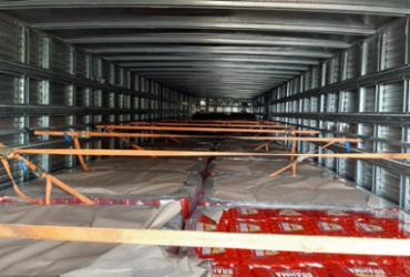 Caminhão com 25 mil litros de cerveja sem nota fiscal é apreendido na Bahia | Divulgação | PRF