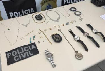 PM recupera jóias e relógios avaliados em R$ 100 mil após furto em Porto Seguro