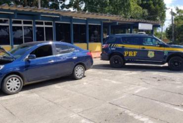Carro roubado no Espírito Santo é recuperado em Eunápolis