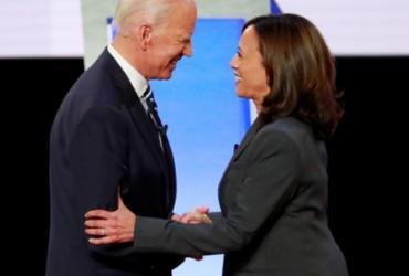 Senadora Kamala Harris é escolhida vice de Biden nas eleições dos EUA   Divulgação   Lucas Jackson