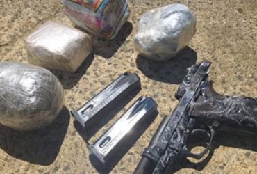 Homem é preso suspeito de tentar arremessar drogas para presídio | Divulgação | SSP