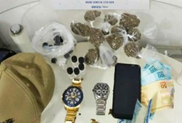 Trio é preso com lança-perfume e maconha em Sussuarana | Divulgação | SSP