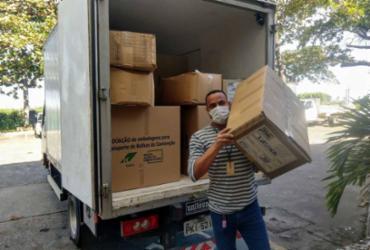 Regiões do Sudoeste e Médio Rio de Contas recebem 229 mil máscaras e insumos hospitalares