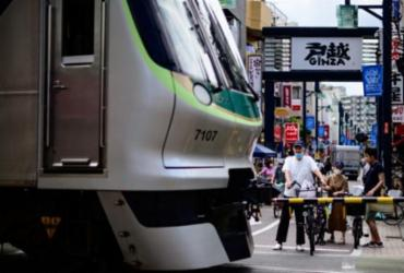 Tóquio contabiliza quase 300 novos casos de coronavírus   Philip Fong   AFP