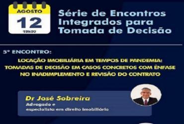 Núcleo jurídico da Associação Comercial da Bahia debate locação imobiliária em tempos de pandemia   Divulgação