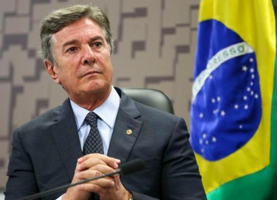 Fernando Collor é alvo de operação da PF por suposto esquema de propina no Ibama   Marcello Camargo   Agência Brasil
