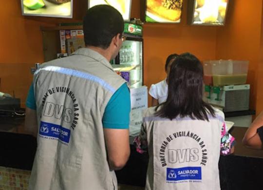 Vigilância Sanitária alerta para golpe de suborno com nome do orgão   Divulgação