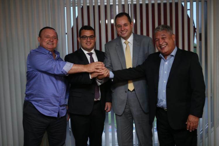 Acordo sobre a presidência da Assembleia foi referendado pelo governador / Foto: Reprodução   Twitter - Foto: Reprodução   Twitter
