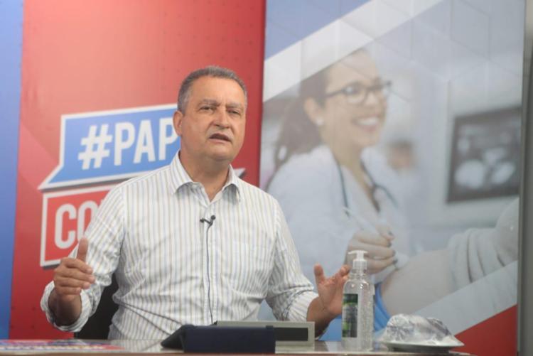 Governador é citado como possível presidenciável / Foto: Mateus Pereira   GOV BA - Foto: Mateus Pereira   GOVA