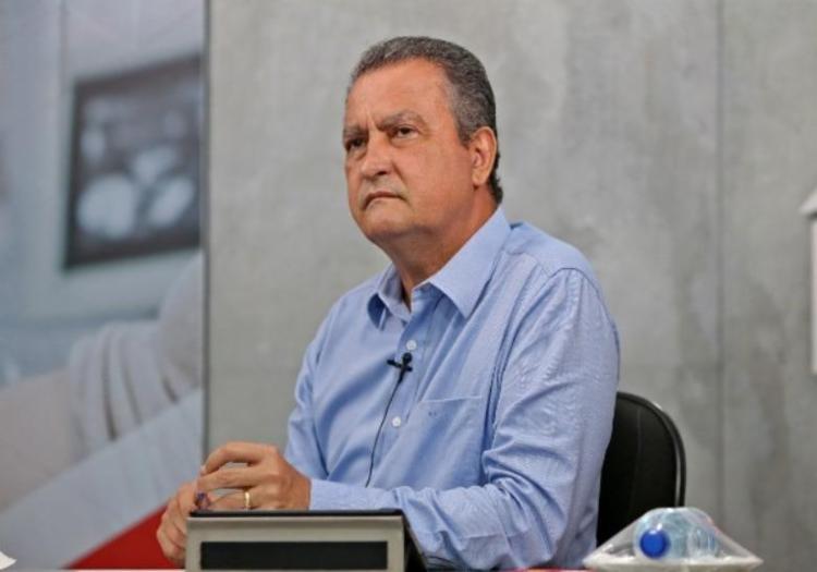 Rui Costa voltou a dizer que Bahia foi prejudicada na distribuição de vacinas   Foto: Paula Fróes   GOV-BA - Foto: Paula Fróes   GOV-BA