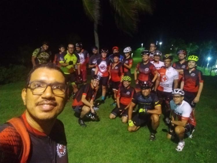 Iulo e o grupo Corda do Caranguejo   Foto: Arquivo pessoal