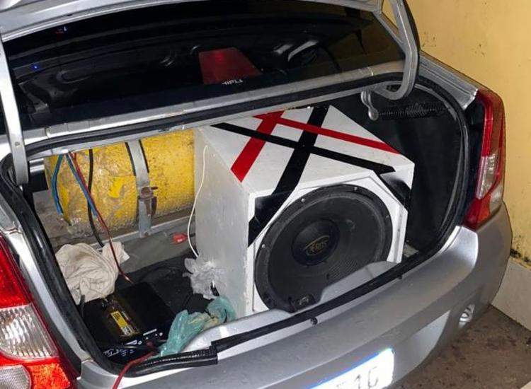 Carros com aparelho de som causavam aglomerações com mais de 50 pessoas - Foto: Divulgação | SSP