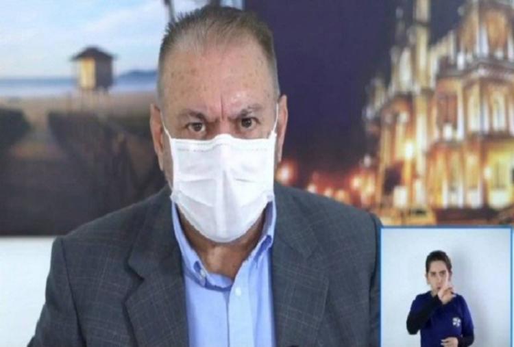 Prefeito de Itajaí, Volnei Morastoni, falou de aplicação retal de ozônio para Covid-19 - Foto: Foto: Reprodução