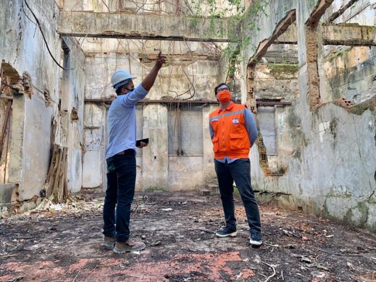 Desabamento foi provocado por falta de manutenção predial   Foto: Divulgação - Foto: Divulgação