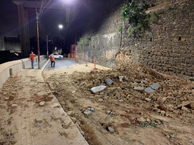 Desabamento parcial foi provocado por falta de manutenção no edifício   Foto: Divulgação   Codesal - Foto: Divulgação   Codesal