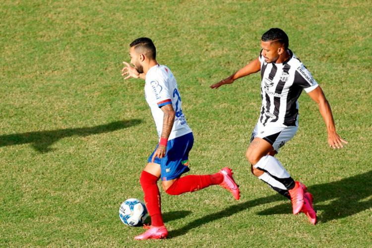 Bahia precisa vencer jogo de volta por três ou mais gols de diferença   Foto: Felipe Oliveira   EC Bahia - Foto: Felipe Oliveira   EC Bahia