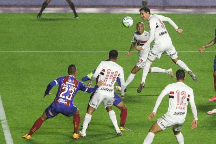 O Tricolor baiano não conseguiu vencer fora de casa   Foto: Rubens Chiri   São Paulo FC - Foto: Rubens Chiri   São Paulo FC