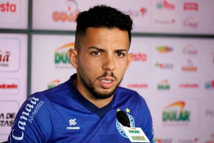 Jogador se despediu do Tricolor | Foto: Felipe Oliveira | E.C.Bahia - Foto: Felipe Oliveira | E.C.Bahia