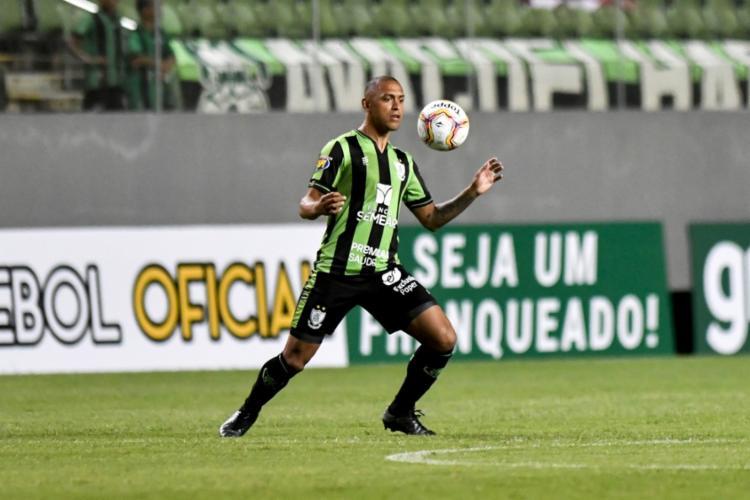 Na atual temporada, Leandro já entrou em campo oito vezes   Foto: Mourão Panda   América-MG - Foto: Mourão Panda   América-MG