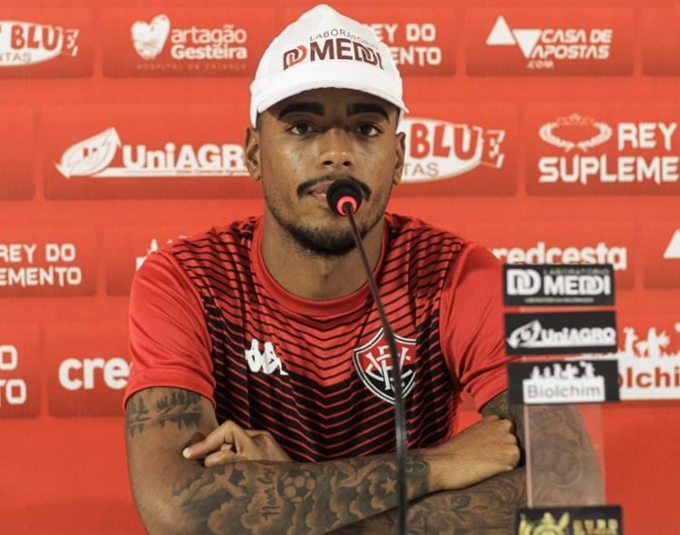 Por dois anos, Mateusinho defendeu as cores do Guarani, maior rival do Alvinegro de Campinas | Foto: Letícia Martins | EC Vitória - Foto: Letícia Martins | EC Vitória