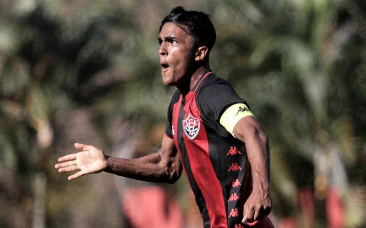 Jogador é uma das promessas do Leão | Foto: Letícia Martins | E.C.Vitória - Foto: Letícia Martins | E.C.Vitória