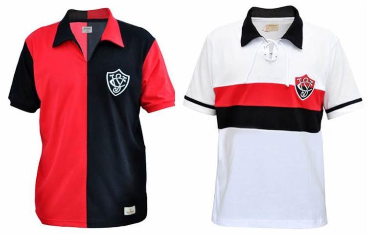 Camisas marcam trajetória do clube - Foto: Divulgação