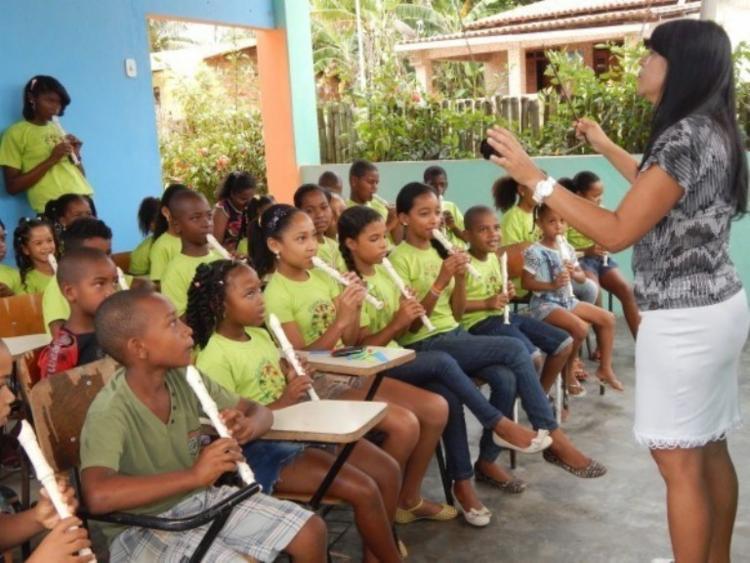 Fundada mais recentemente, a Filarmônica Lira de Maracangalha faz 18 anos no dia 27 de setembro - Foto: Divulgação|