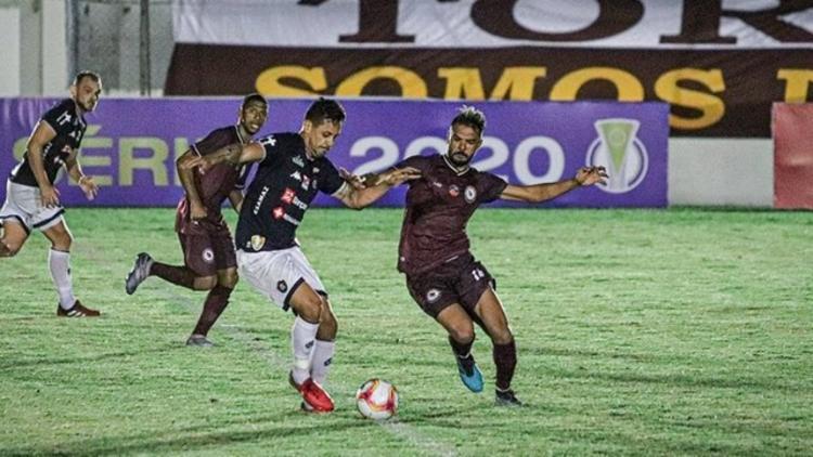 Jacuipense tropeçou na estreia | Foto: Renan Oliveira | Jacuipense - Foto: Renan Oliveira | Jacuipense
