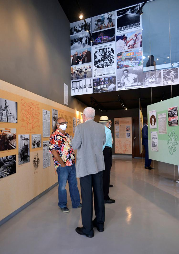 Mostra tem curadoria do pesquisador Nelson Cadena | Foto: Shirley Stolze | Ag. A TARDE - Foto: Shirley Stolze | Ag. A TARDE