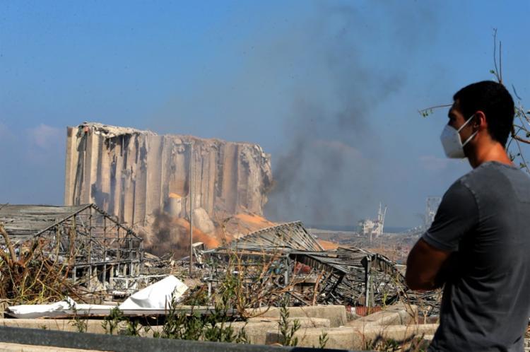 Explosões deixou mais de 100 mortos e 4 mil feridos em Beirute - Foto: STR | AFP