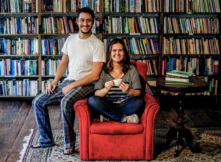 Lucio e Carla Urbanetto decidiram fechar loja física da Porto dos Livros