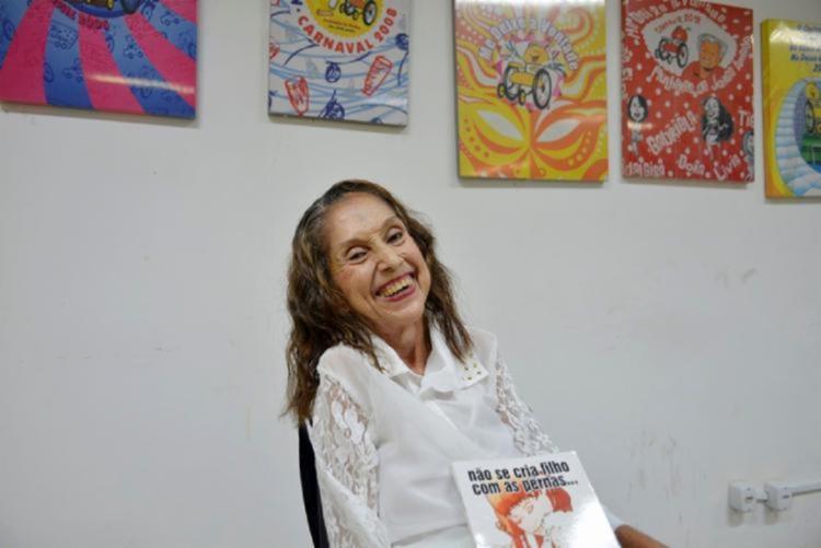 Luiza Câmera é reconhecida nacionalmente pelas contribuições relevantes aos direitos das pessoas com deficiência | Foto: Shirley Stolze | Ag. A TARDE - Foto: Shirley Stolze | Ag. A TARDE