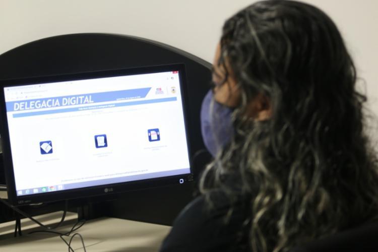 Outros crimes também poderão ser registrados na Delegacia Digital | Foto: Alberto Maraux | SSP - Foto: Alberto Maraux | SSP