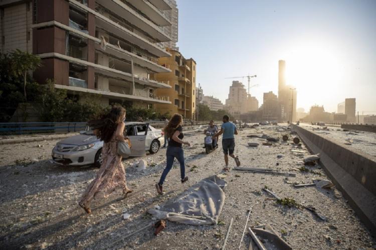 Informação foi divulgada pelo ministro de Saúde do Líbano | Foto: Hassan Ammar | AFP - Foto: Hassan Ammar | AFP