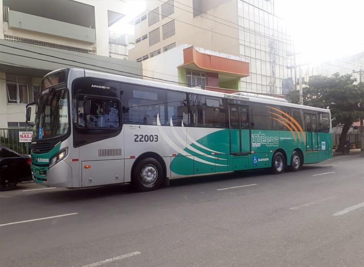 Ônibus é equipado com ar-condicionado e com portas em ambos os lados - Foto: Divulgação | Secom
