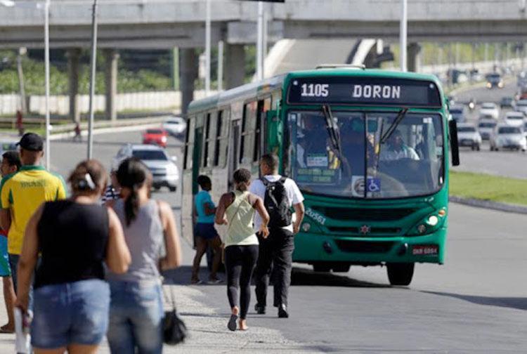 Salvador registrou o maior índice de passageiros que estão usando menos o transporte público | Foto: Joá Souza | Ag. A Tarde - Foto: Foto: Joá Souza | Ag. A Tarde
