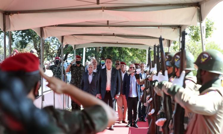 Cerimônia oficializou formatura de 749 paraquedistas | Foto: Marcos Corrêa | PR - Foto: Marcos Corrêa | PR