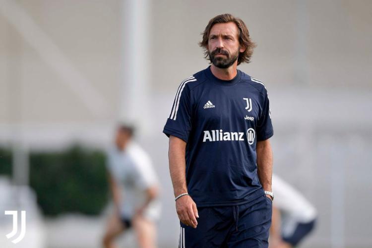 Substituto de Maurizio Sarri, Pirlo rejeitou as críticas por sua falta de experiência como técnico de alto nível   Foto: Divulgação   Juventus - Foto: Divulgação   Juventus