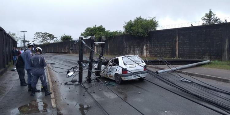 Acidente aconteceu na manhã desta terça-feira | Foto: Divulgação | CBM-BA - Foto: Divulgação | CBM-BA