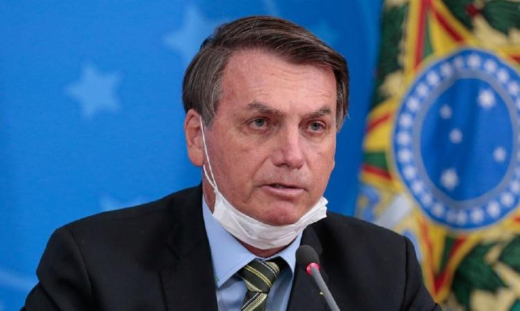 Bolsonaro argumentou que uso obrigatório de máscara nesses locais poderia ser considerado violação de domicílio   Foto: Agência Brasil - Foto: Agência Brasil