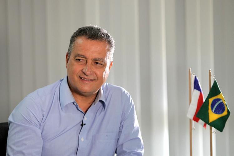 Governador Rui Costa poderá contar com quatro candidaturas este ano - Foto: Divulgação | Secom