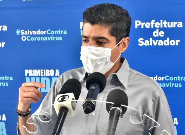 Anúncio foi feito pelo prefeito ACM Neto durante coletiva - Foto: Max Haack   Divulgação   Secom