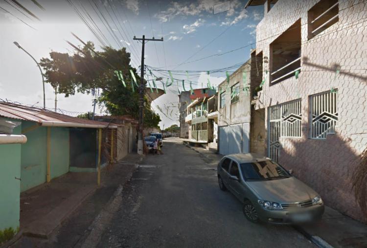 Caso ocorreu na rua Direta da Goméia, no bairro de São Caetano | Reprodução | Google Street View - Foto: Reprodução | Google Street View