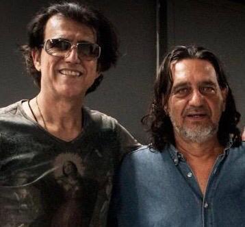 Geo Benjamin e Silvio Palmeira   Foto: Arquivo Pessoal