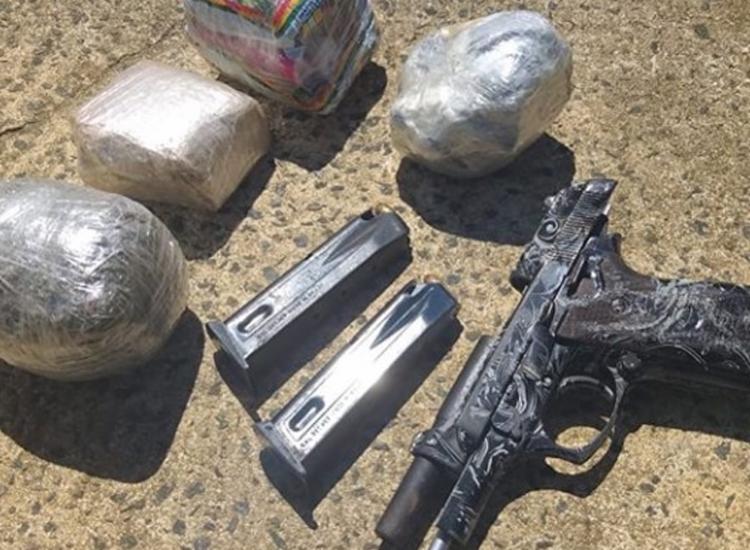 Material foi encontrado com suspeito - Foto: Divulgação   SSP