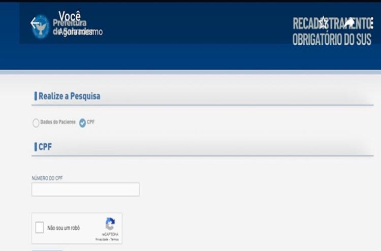 Mais de 335 mil atualizações foram feitas por intermédio do site - Foto: Reprodução