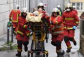 Atentado deixa 4 feridos nas proximidades do antigo Charlie Hebdo | Foto: Alain Jocard | AFP