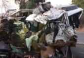 Batida entre caminhão e van deixa 12 mortos e um ferido em MG | Foto: Divulgação | PRF