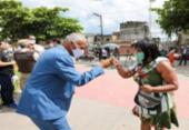 Pastor Sargento Isidório inicia campanha no bairro de Periperi | Foto: Divulgação